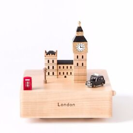 Collectible Wooden Musical Boxes