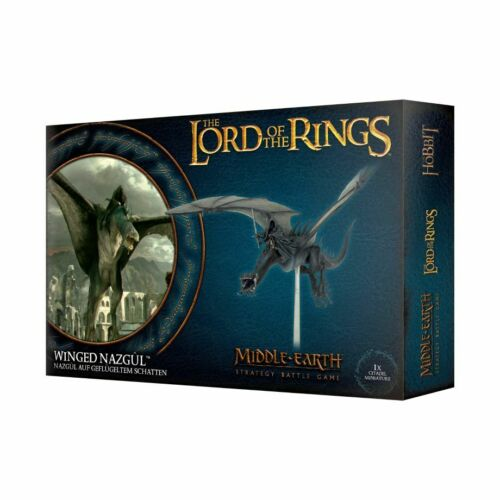 Winged Nazgul Fell-Beast Witch-King Angmar Middle Earth Strategy Game Lord Ring