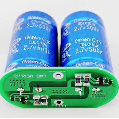 New 2.7v500f Sawmha Green-cap Ultracapacitor Super Capacitor W Protection Plat
