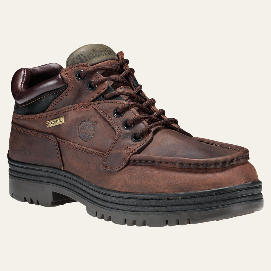 NEW Timberland Men's Icon Chukka Gore-Tex Waterproof Leather Boots Shoes 37042