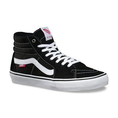 VANS 'SK8 HI PRO' Skateboard Shoes, Black/White