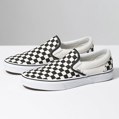Vans Classic Slip-on Sneakers - Womens Checkerboard - Classic Shoes - BNIB (Beige Sneakers)