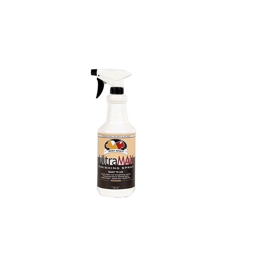 ultramax pro finishing spray for dogs hydrates