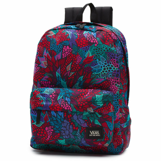 VANS Saulo Ibarra Backpack Book Travel Gym Bag | eBay
