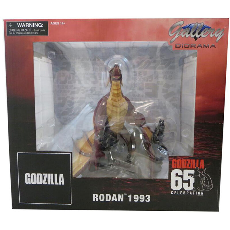 Diamond Select Godzilla Gallery Rodan 1993 Version PVC Statue *IN STOCK