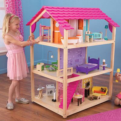 Как сделать домик для куклы в детской 326