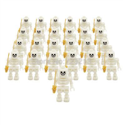 Skeleton Knight Horse Minifigure Skull Castle Army Building Blocks](Skeleton Knight)