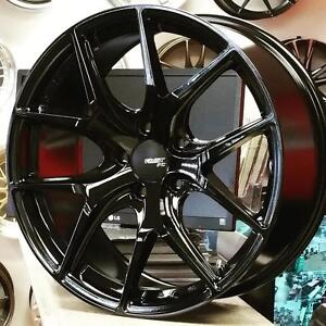 FAST FC04 Leigt weight FLOW FORM 19.4 lb 18 Inch 19 Inch Rims for Honda Mazda Hyundai VW Lancer @Zracing 905 673 2828