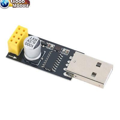 Usb To Ttl Wifi Esp8266 Wireless Module Development Board Esp-01 01s Ch340 Linux