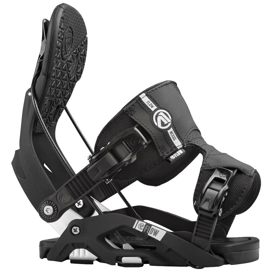 Flow Nexus Fusion Black 2017 Snowboard Bindings Medium