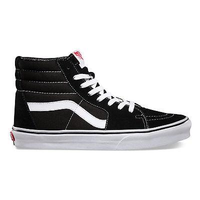 Vans SK8 HI Black/White  Skateboarding Shoes Classic  VN-0D5IB8C Fast Shipping