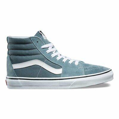 Vans SK8 Hi Goblin Blue/True White Suede Mens Skate Shoes