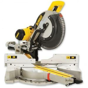 Dewalt 12 Double Bevel Sliding Mitre Saw DWS780
