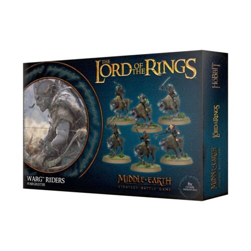 Warg Riders The Hobbit Lord of the Rings Games Workshop