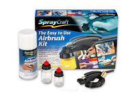 New SprayCraft SPRAYCRAFT SP10K Easy-To-Use Airbrush Kit .BOXED