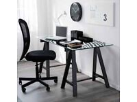 Ikea Oddvald trestle legs black x2