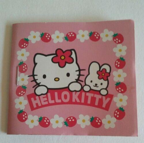Hello Kitty Mini Sticker book  1998