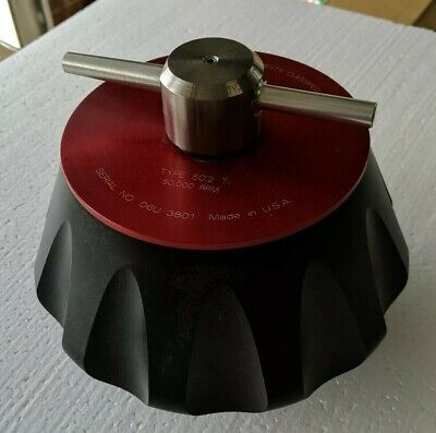 BECKMAN TYPE 50.2 TI CENTRIFUGE ROTOR 50,000 RPM
