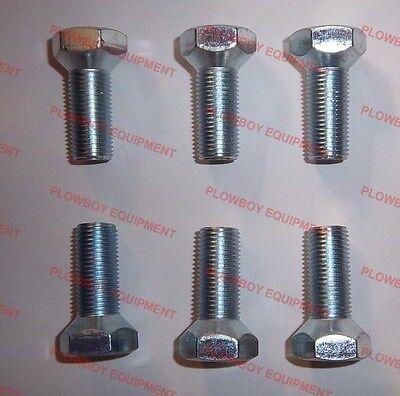 Set Of 6 Wheel Bolts For John Deere 1020 1530 2010 2020 3020 4000 4020 4440 300