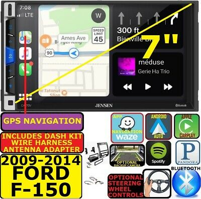 2009-14 FORD F150 GPS NAV APPLE CARPLAY ANDROID AUTO BLUETOOTH CAR RADIO STEREO