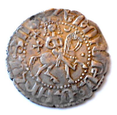 CILICIA-ARMENIA,Armenian King HETOUM/KAIKHUSRAW,Seljuq,Bilingual,639 A.H.Superb