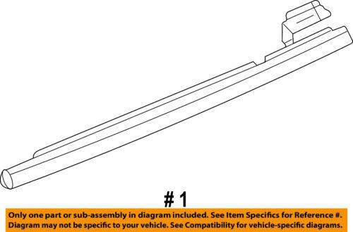 OEM NEW Rear Right Passenger Door Belt Window Weatherstrip Seal F4TZ-3525596-A