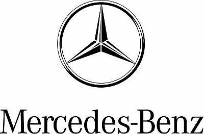 Mercedes-Benz X156 GLA Heckklappe Badge Star - Schwarz glänzend A1568170016