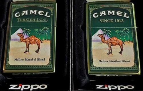 ZIPPO LIGHTER CAMEL Turkish JADE CZ LIMITED EDITION ONLY 50 MADE