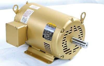 New 37b101r503g1 Baldor 15hp Super-e Electric Motor