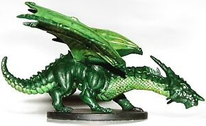 D-D-mini-LARGE-YOUNG-GREEN-DRAGON-Dungeons-Dragons-Miniature-DDM
