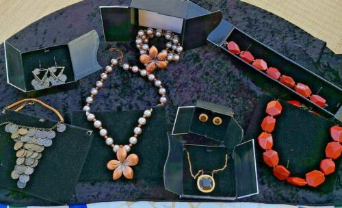 Lot of 4 Amway Jewelry Necklace Sets Brand New See Pics Personal Accents