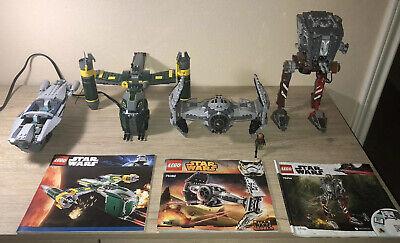 lego star wars lot sets (Read Description)