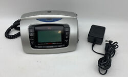 GE 29297GE3-A Dual AM/FM Radio Alarm Clock Telephone Caller ID Bedroom Phone