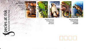 2009-Species-At-Risk-Australian-Joint-Territories-Issue-FDC-Australian-Stamps