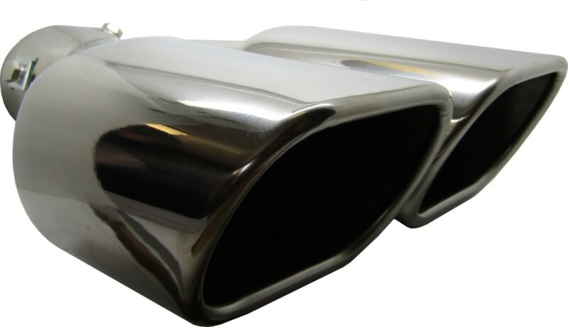Twin Square Stainless Steel Exhaust Trim Tip Lexus NX 2014-2016
