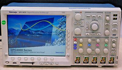Tektronix Dpo4054 4 Ch Digital Oscilloscope 500mhz 2.5 Gss Good