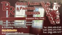 Crackfill & Painting Services