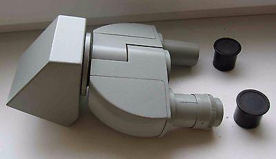 Carl Zeiss Jena Binocular Head Microscope Laboval Ergaval Amplival