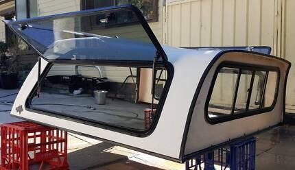 TOYOTA HILUX SR5 DUAL CAB FLEXIGLASS HIGH ROOF CANOPY