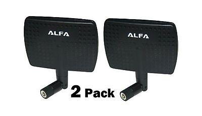2.4HGz Panel Screw On Swivel Antenna for Alfa Network Adaptors 3DR Solo Drone