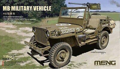 Meng Model 1/35 VS-011 MB Military Vehicle