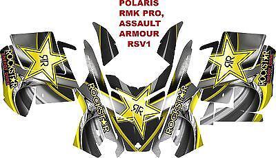 POLARIS RMK PRO, ASSAULT  DECAL WRAP KIT 05-15 ARMOUR RSV1