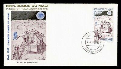 DR WHO 1989 MALI FDC SPACE APOLLO 11 MOON LANDING  C240336