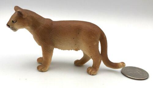 Schleich PUMA Cougar Wild Cat Animal Figure 1999 Retired 14164 Rare!