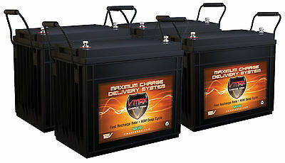 620ah Solar Battery Bank 4 Vmaxslr155 Agm Deep Cycle Vrla Batteries