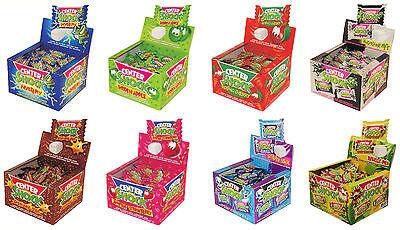 Sour Bubble Gum - CENTER SHOCK Flavor Mix Sour Liquid Filled Bubble Gum Novelty Sweets