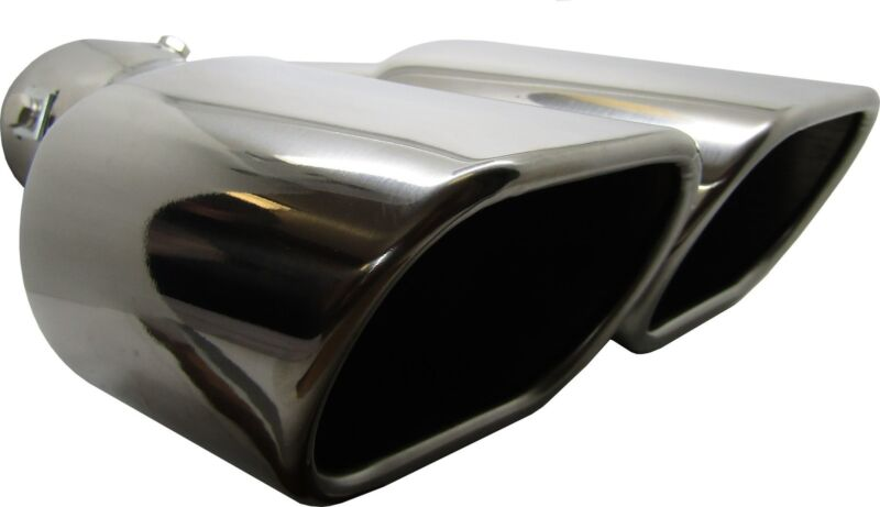 Twin Square Stainless Steel Exhaust Trim Tip Lexus LS 1994-2016