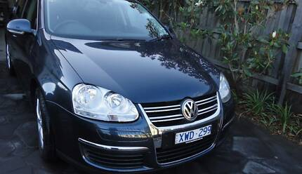 2009 Volkswagen Jetta Sedan MY10 103TDI Auto Navy Diesel with RWC Essendon Moonee Valley Preview