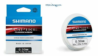Shimano Aspire Fluocarbon 50m 0,37mm (m 0,20€) Fluorocarbon Made in Japan NEW gebraucht kaufen  Neubrandenburg
