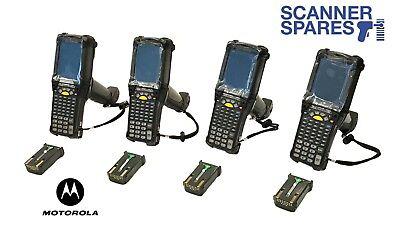 Lot Of 4 Motorola Mc9090-gf0hjgfa6wr 1d Laser Wm 5 Barcode Scanner Vt Emulation